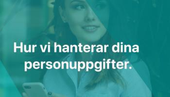 UPPDATERADE ALLMÄNNA VILLKOR & GDPR